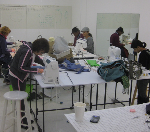 Sewing classes at Tchad in Chicago