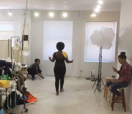 ashanti photoshoot at tchad workroom