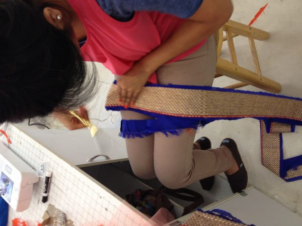 Sewing classes in chicago: tchad: workroom: workshop: reshma: lehenga: choli: gagra: trim: hemming 2