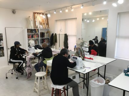 Saturday sewing classes at Workroom at Tchad