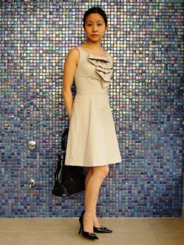 The selfish seamstress: Elaine: Coffee date dress