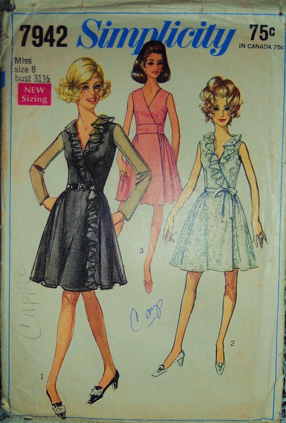 Sewing classes in chicago: tchad: Simplicity: Patterns: 7942: erin: vintage: project: lacroix: inspired