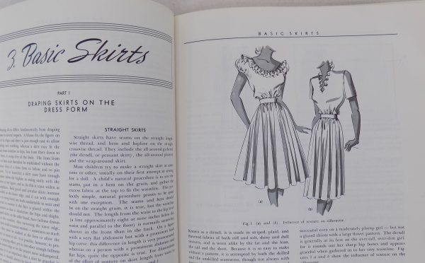 Sewing classes in Chicago: tchad: workroom: studio: books: dress design: millhouse: mansfield: draping: flat pattern: pattern making: first page: skirts
