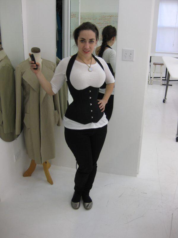 Tchad: corset: decima: workroom