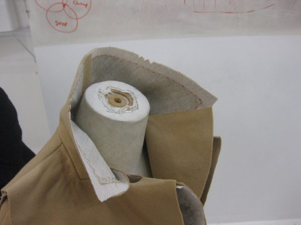 sewing classes in Chicago: tchad: Ying: cashmere: cape: simplicity: 6680: collar