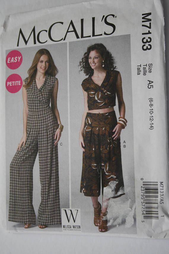 McCall's #7133: sewing classes in chicago: tchad: jumpsuit: pattern: kanya: versatile