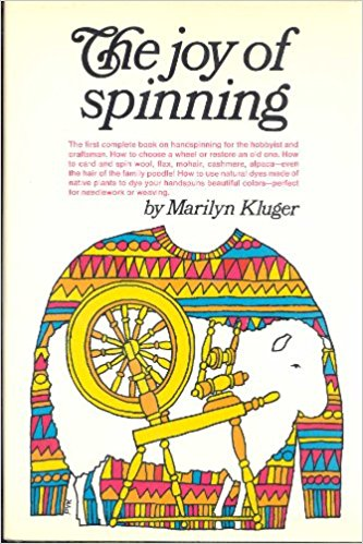 Sewing classes in Chicago: Tchad: workroom: sewing studio: book: The Joy of Spinning: Marilyn Kluger: Spinning