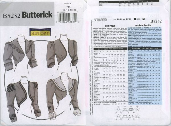 Sewing classes in Chicago: Tchad: Karen McKinley: Blog: Other voices: Butterick: 5232