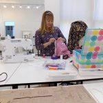 Sewing Classes in Chicago: Tchad: Erin Benoit: Workroom: Studio: Internal v. External
