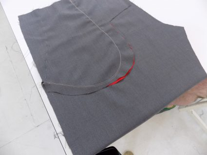 sewing classes in Chicago: Tchad: Jeremy: Pocket: Lining