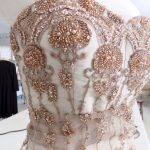 Sewing Classes in Chicago: Beaded: Couture: Compromise: Tchad: Verena: Strapless: Bodice : Right Front princess seam