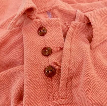 Sewing classes in Chicago: Tchad: workroom: studio: herringbone: knit: cording