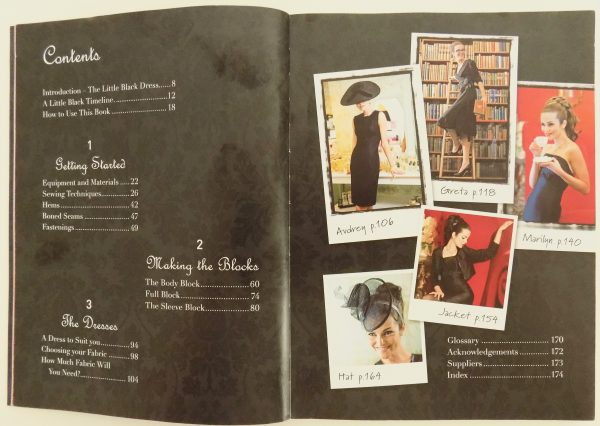 Sewing Classes in chicago: Simon Henry: Tchad: Book: Review: The Little Black Dress: Contents: Workroom: Studio: Library