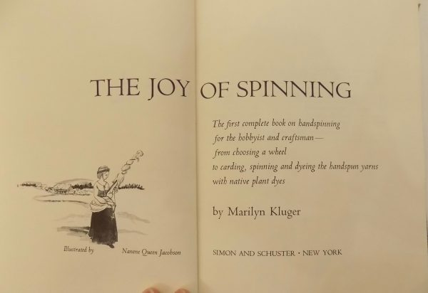Sewing classes in Chicago: Tchad: Workroom library: The Joy Of Sewing: Marilyn Kluger: Sewing Studio: Title Page
