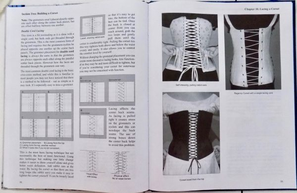 Basics of Corset building: Linda Sparks: Tchad Workroom Studio Library: Sewing classes in Chicago: lacing