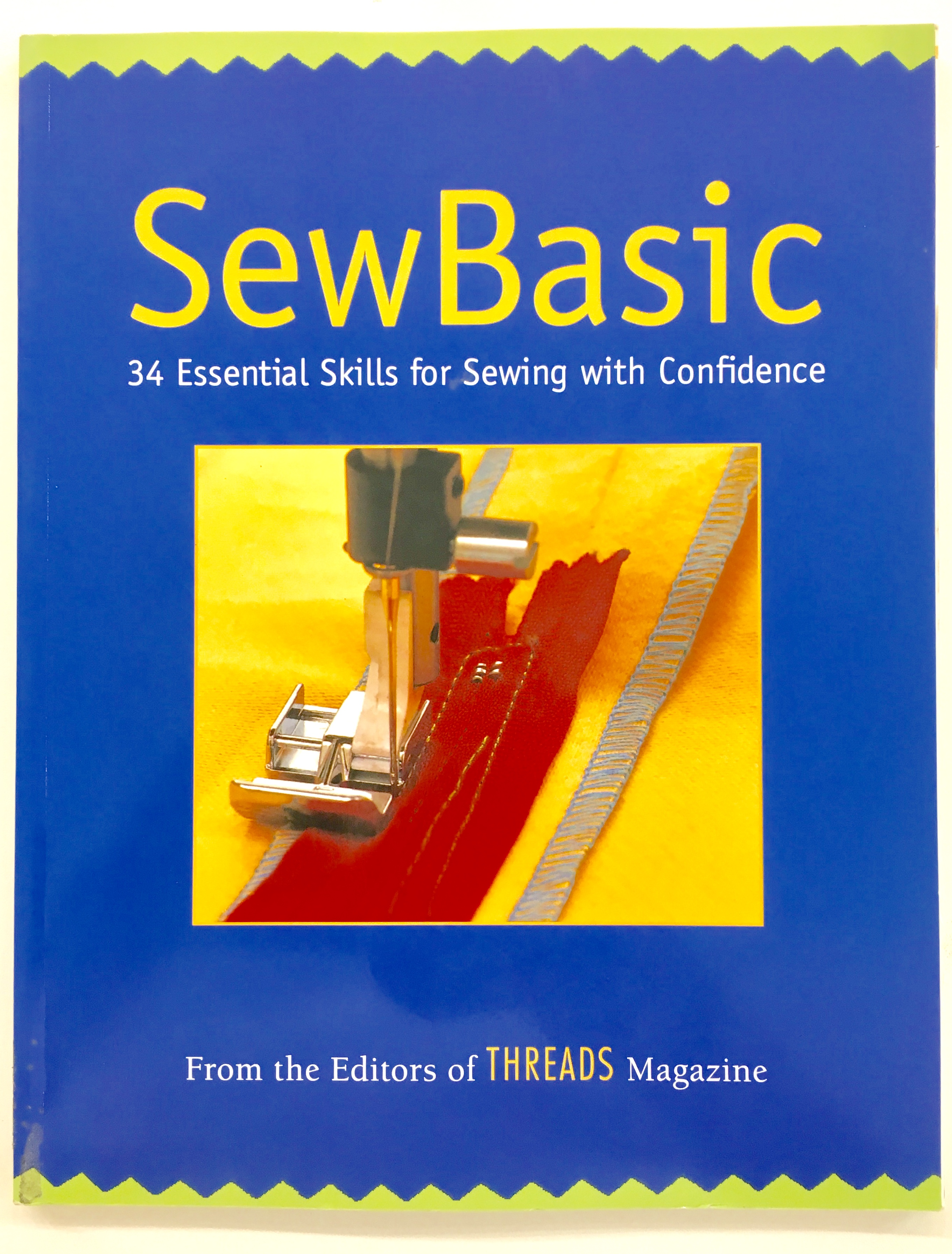 Sewing classes Chicago: Tchad: Workroom: Sewing studio: Library: Sew Basic: Cover