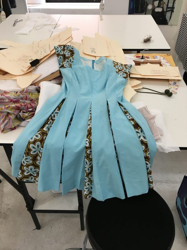 Sewing Classes Chicago | Tchad | Workroom | Sewing Studio | Erin Benoit | McCalls #6834 | First Projects | flat on table