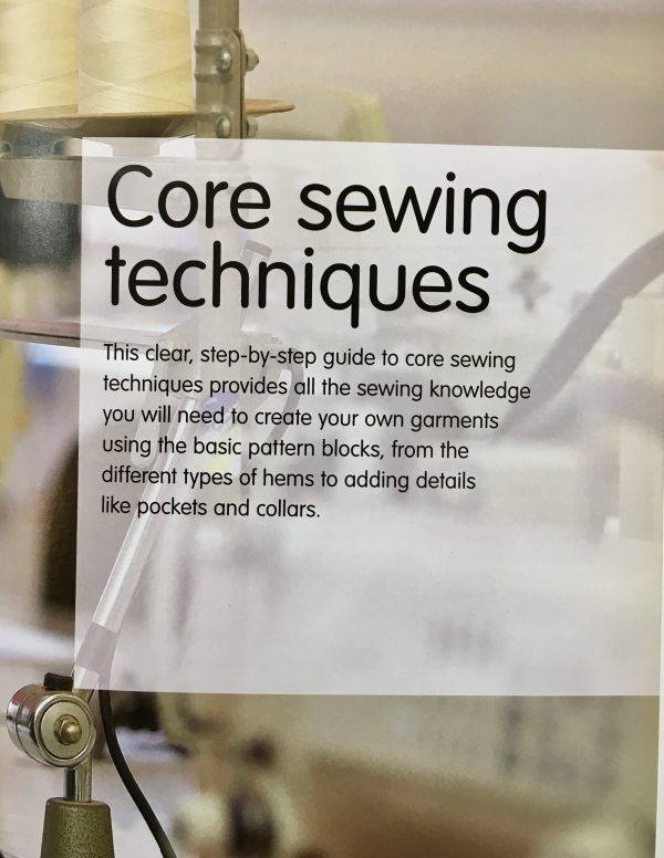 Sewing classes Chicago: Tchad: Workroom: Sewing Studio: Library: Lee Hollahan: Core Sewing
