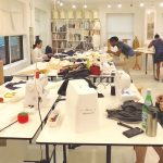 sewing classes in Chicago: Tchad: Workroom: Sewing studio: Class: Open sewing